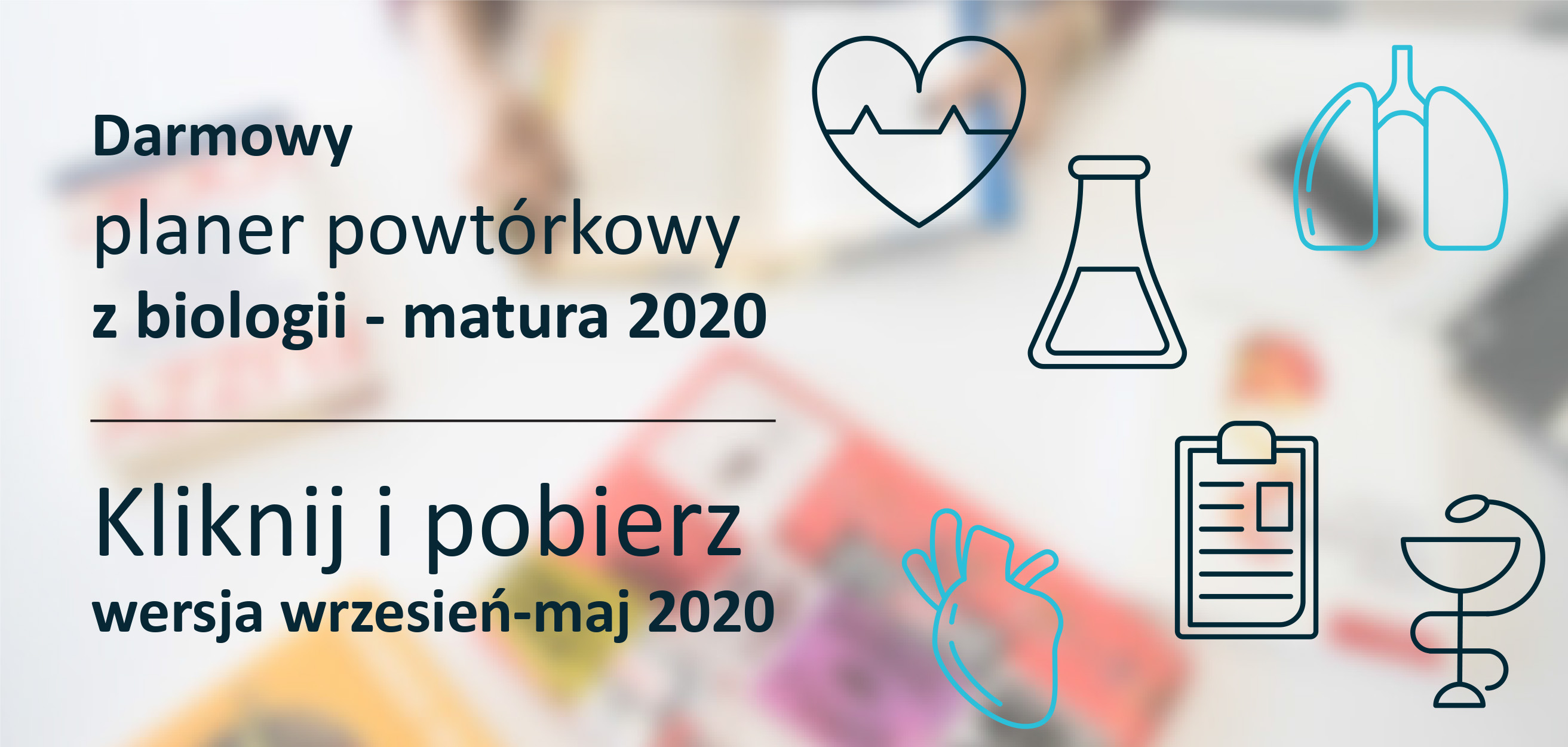 Darmowy planer maturalny z biologii